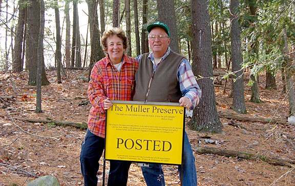 The Mullers on the Muller Preserve